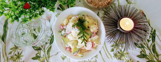 Mozzarella retiisi salaatti