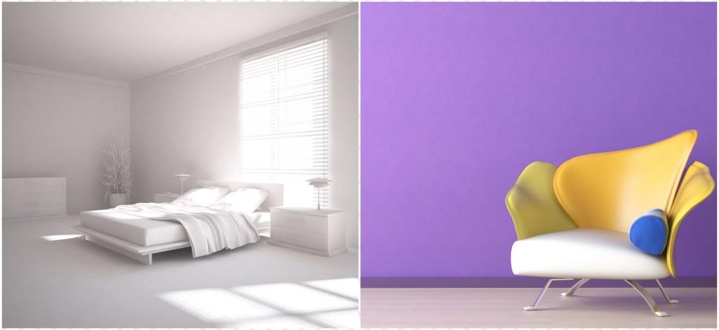 Minimalismi värit ja muodot - sisustus