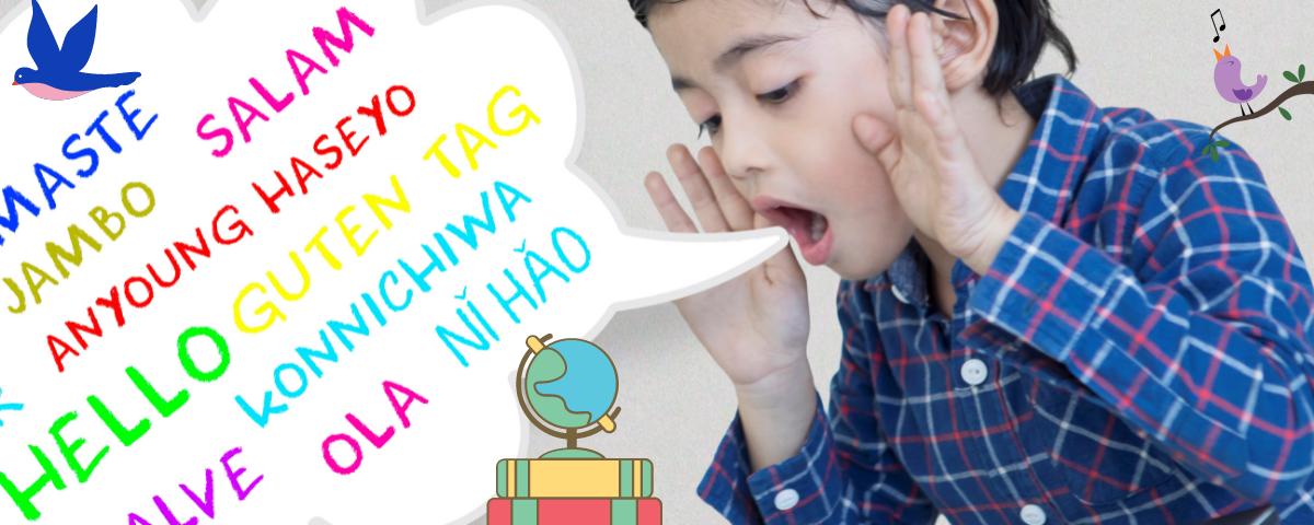 monikielisten lasten varhaisiän kielten kehitys