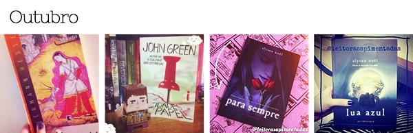 Livros lidos em Outubro