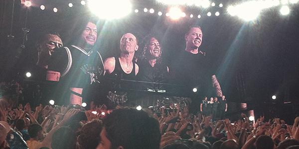 Show do Metallica - Março 2014