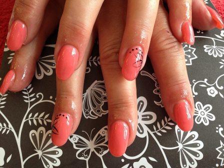 Nails corail