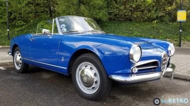 1962 Giulia Spider
