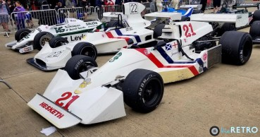 1981 Williams FW07C, 1974 HEsketh 308, 1975 Hesketh 308C