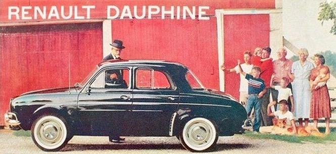 Dauphine black