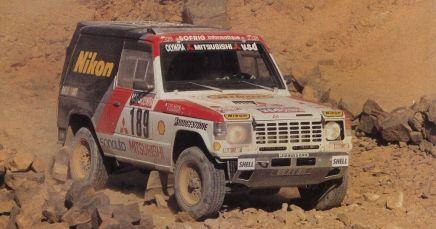 Paris Dakar Pajero - 2