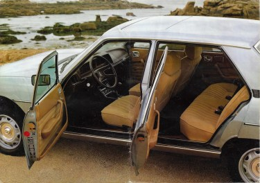 Peugeot 604 Brochure 1979