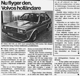 Volvo 363 CS article