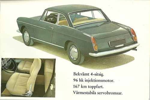 Peugeot 404 Coupe 6