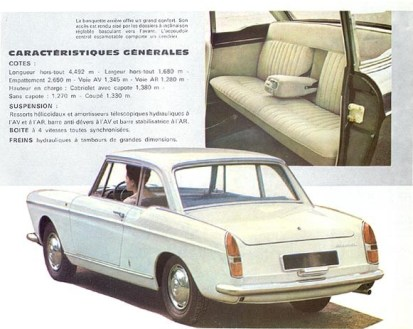 Peugeot 404 Coupe 9