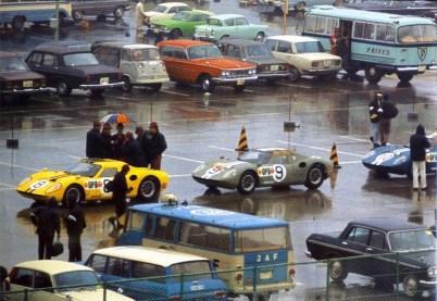 Prince R380 line-up 1966