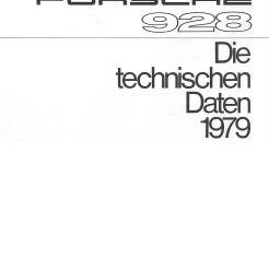 1979 Porsche 928 Broch TD1