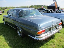 Mercedes 108 Coupe rear