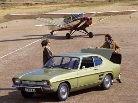 Ford Capri 1700 GT, 1969-1972