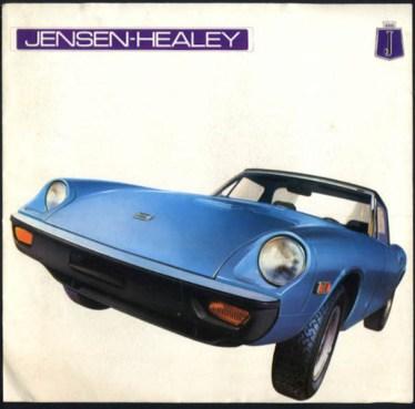 Jensen Healey brochure