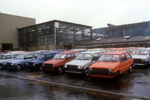 Buildings and Landmarks - British Leyland Mini-Metro Plant - Longbridge