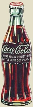 Coca Cola bottle design 1940