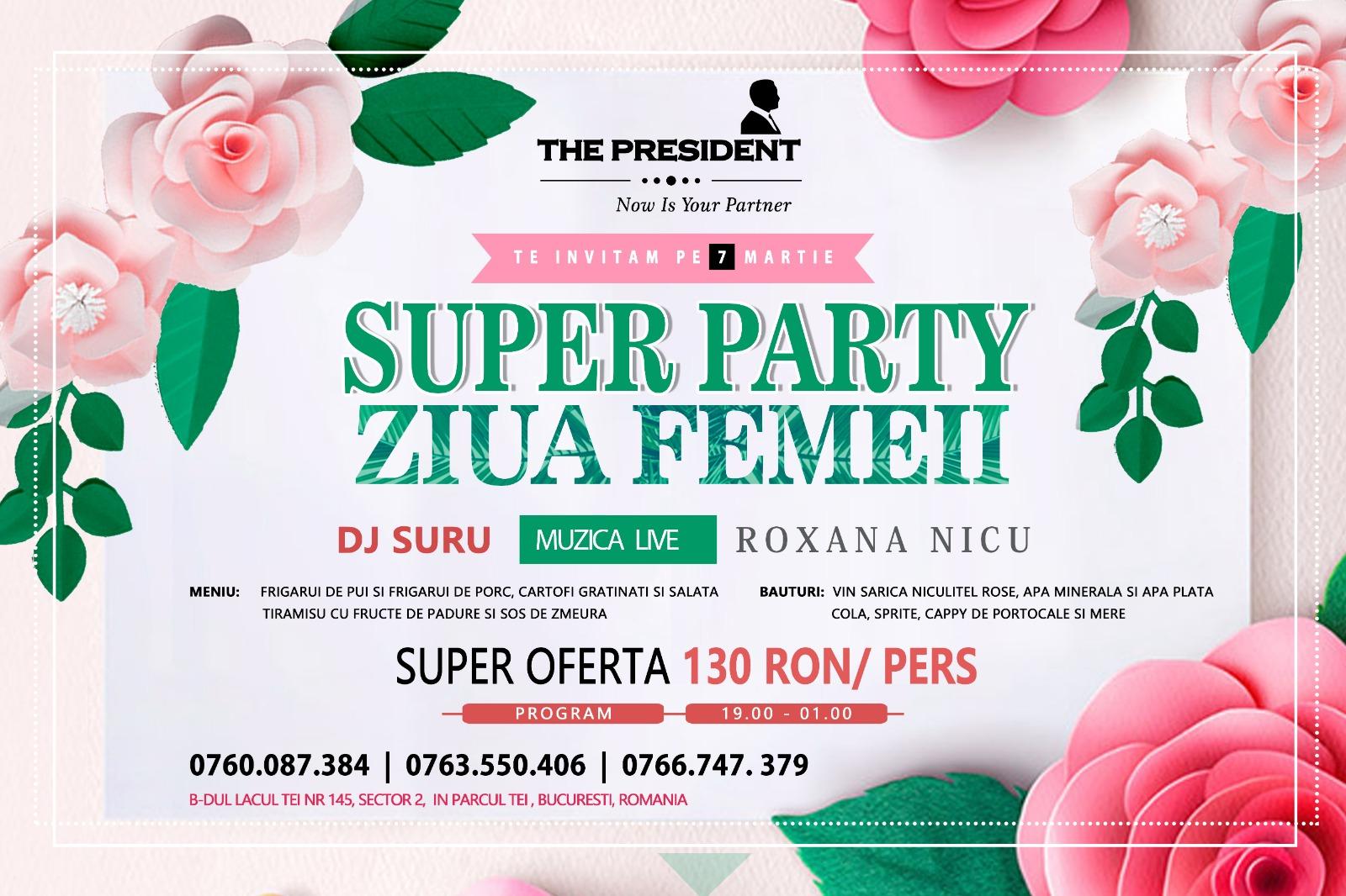 Super Party la The President2
