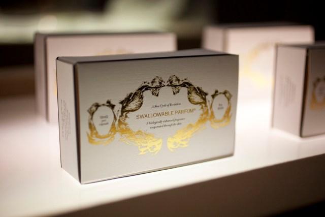 conceptualizacion swallowable parfum