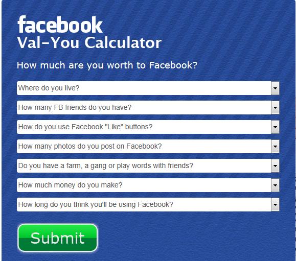 val-you calculator