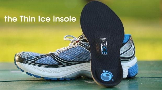 La plantilla para zapatos de Thin Ice