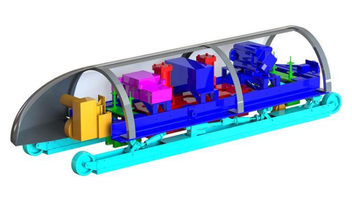 Diseño presentado por MIT Hyperloop Team