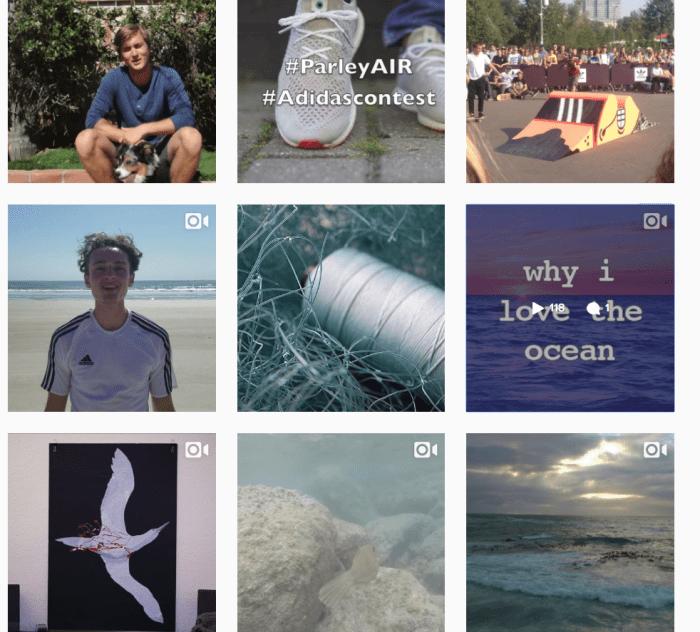 Algunas de los videos que participan en la campaña Adidas-Parley