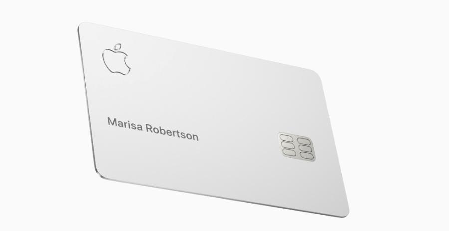 Apple Card Titanio
