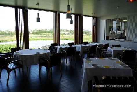 Cafè-restaurant amb vistes a la ciutat