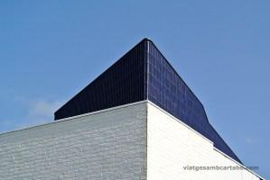 Detall dels materials escollits per Alvar Aalto