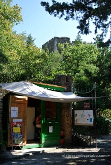 Entrada al Castell de Castellnou