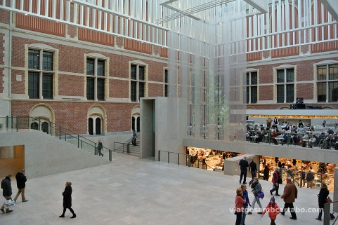 L'atri del Rijksmuseum de dia