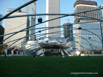 L'espectacular sistema d'altaveus de l'Auditori Pritzker Pavillion de Frank Gehry