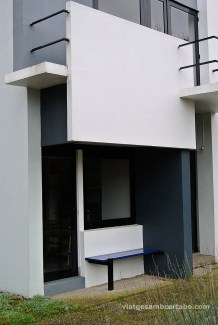 Rietveld House banc lateral