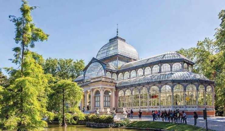 Palacio de Cristal, Parque del retiro , Madrid