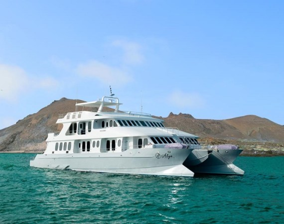 Creuer amb catamarà a les illes Galápagos