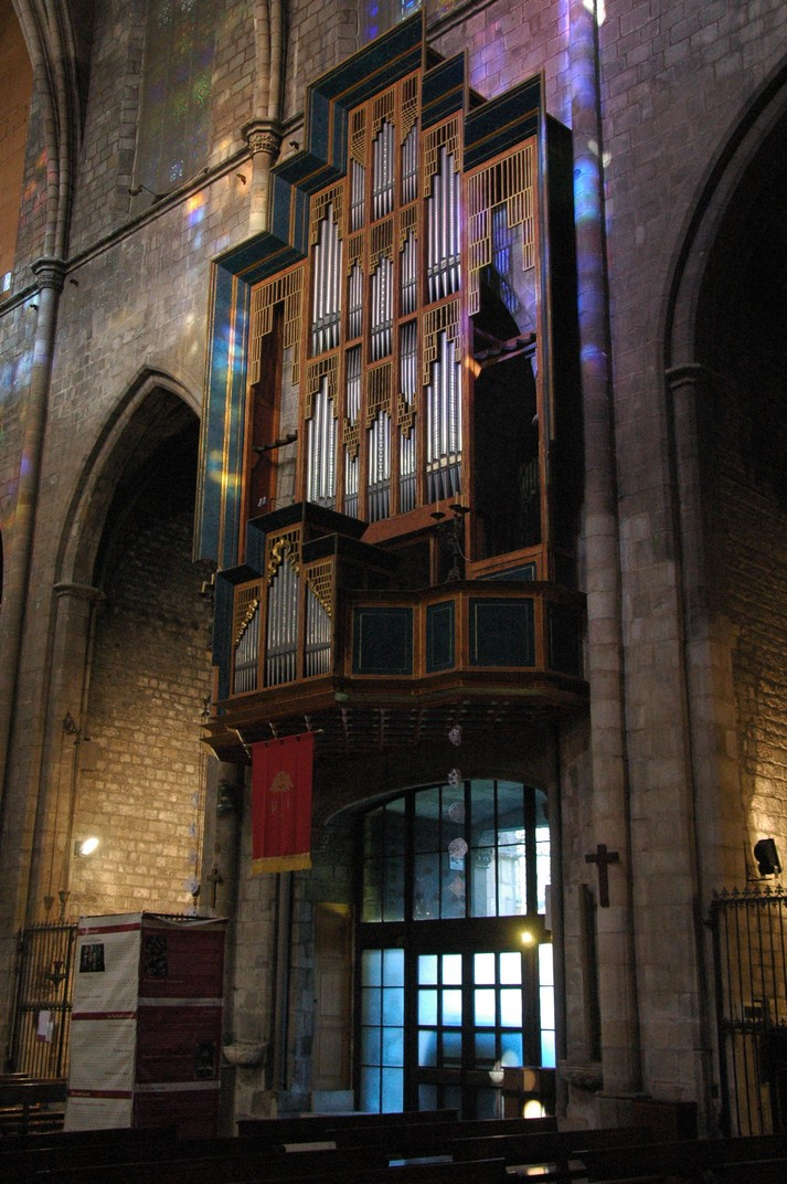 Orgue major de la Basílica de Santa Maria del Pi