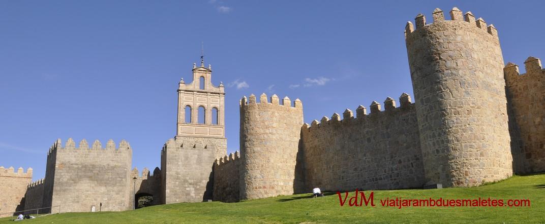 Porta del Carmen - Teso del Carmen - Muralles d'Àvila