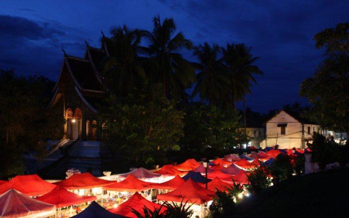 Mercat nocturn Luang Prabang