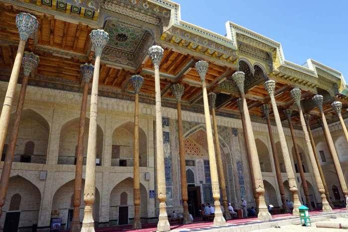 Bolo-Hauz mosque Bukhara