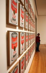 2008-10-25 (Eli amb les sopes Campbell de Warhol)