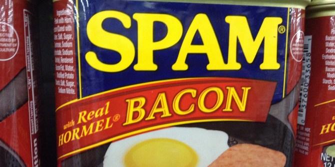 Blikje spam