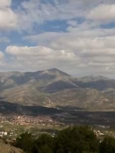 horizonte desde la montaña