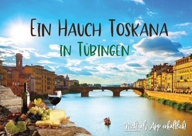 EIn Hauch Toskana Stocherkahn Weinseminar