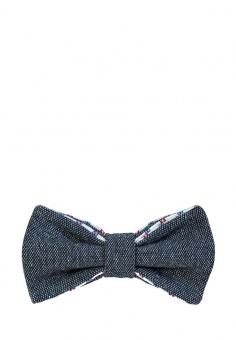 галстук-бабочка синий