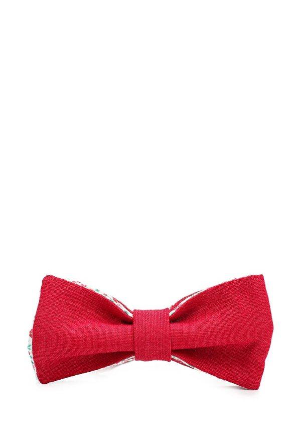 галстук-бабочка красный