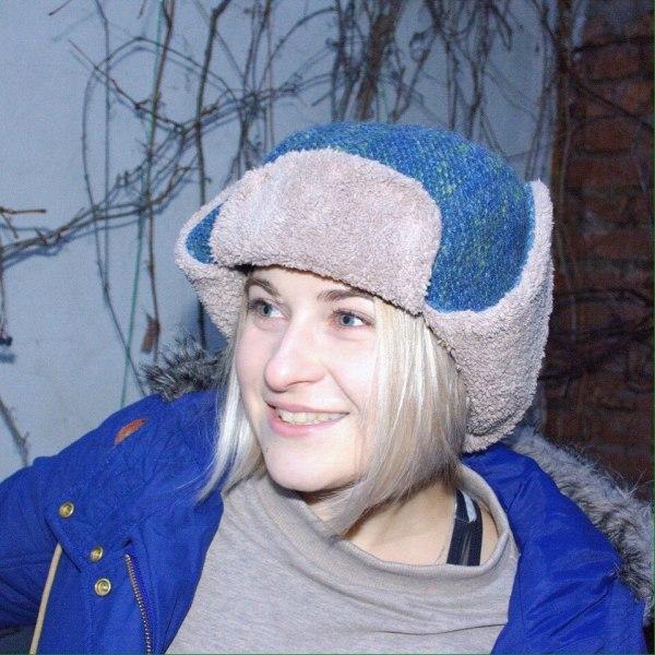шапка-ушанка теплая, мужская и женская