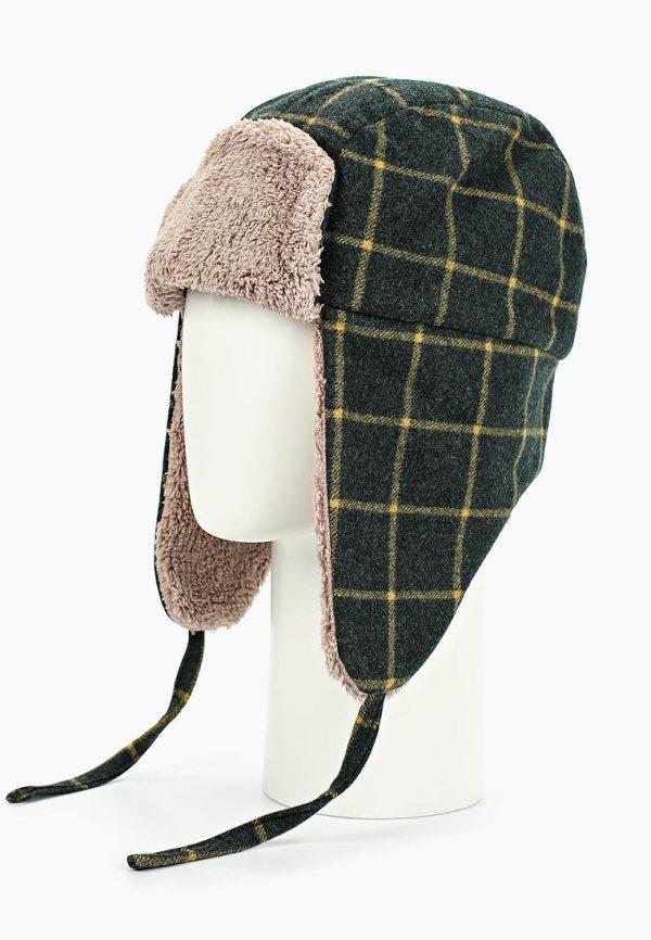 шапка-ушанка мужская женская твид