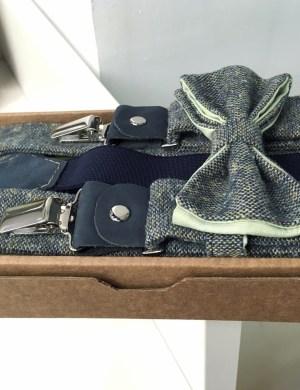 Подтяжки для брюк и галстук-бабочка ViaVestis