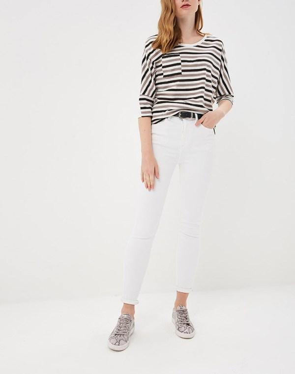 Блузка в полоску, Блузка полосатая, Блука Ламода, Дизайнерская одежда